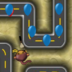Bloons Tower Defense 4 (46,133 krát)