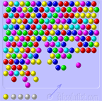 Bubble Shooter (94,355 krát)