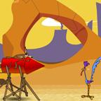 Wile E Rocket Ride
