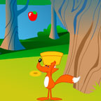 Liška a jablíčka (31,107 krát)